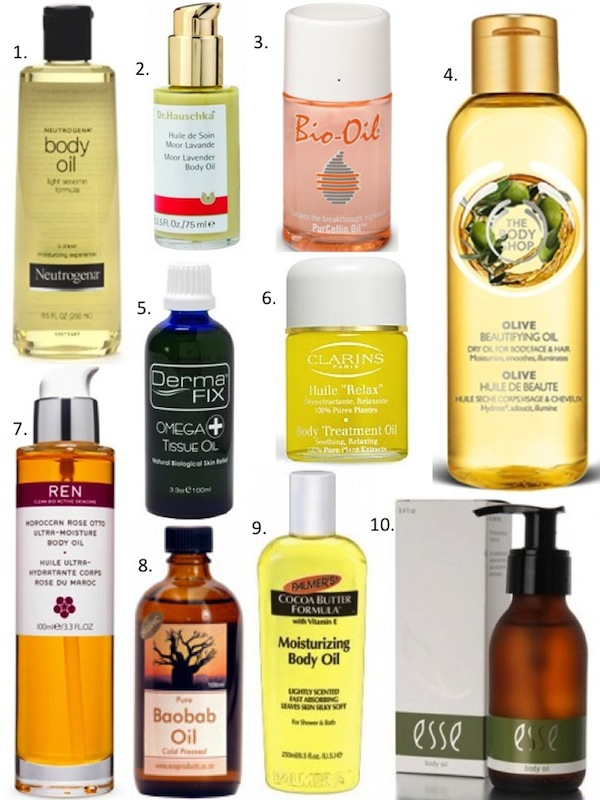 how to use clarins relax body treatment oil