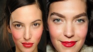 10 Runway makeup trends for Autumn Winter 2012-2013. Michael Kors 2
