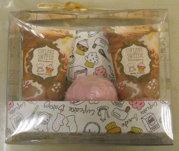 Cupcake Sweetie Bath Gift Set, R39.95