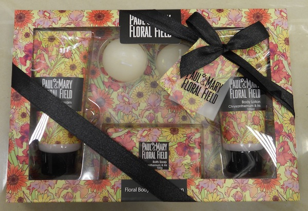 Paul and Mary Floral Field Gift Set, R49.95
