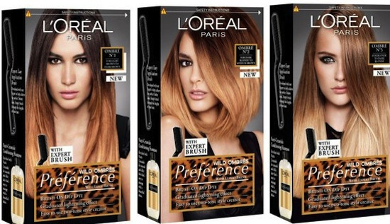 L Oreal Pr 233 F 233 Rence Wild Ombr 233 S Brush On Dip Dye