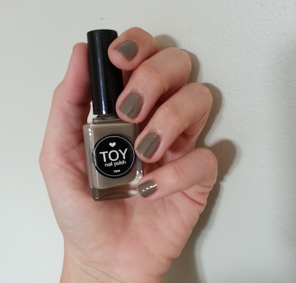 Toy Nail Polish In Taupe