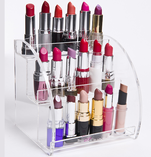 how to make lipstick stand at home
