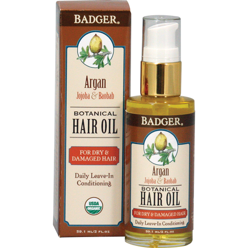 Badger Argan Hair Oil