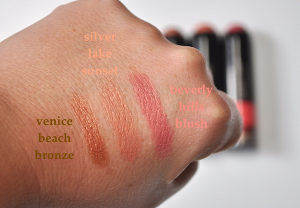 Smashbox LA Lights Swatches