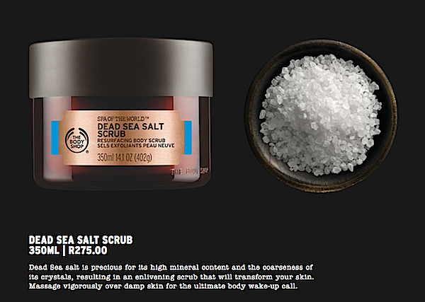 Revitalising Dead Sea Salt Scrub