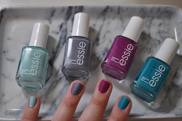 essie swatches