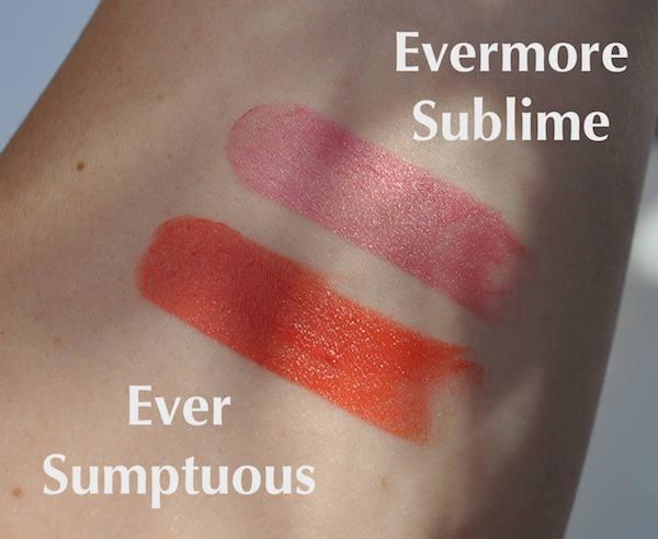 MF Lipfinity Swatches