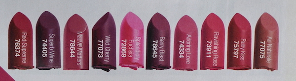 Avon Perfectly Matte South Africa Shades