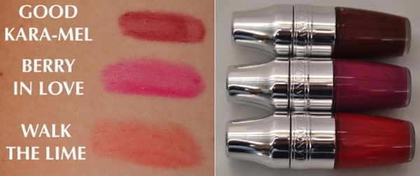 Lancome Juicy Shakers Swatches