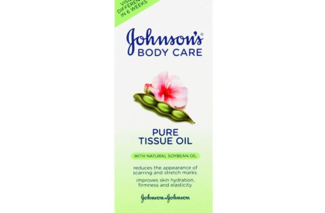 Johnsons Body Care Pure Tissue Oil