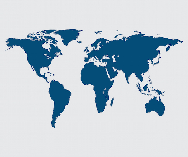 World Map: Shutterstock
