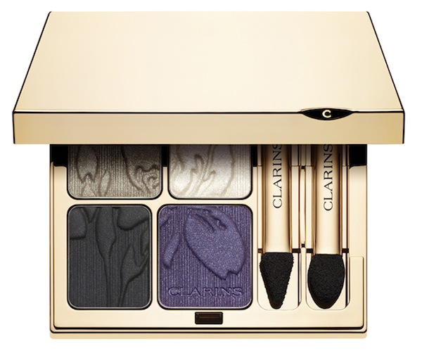 The look is completed with this stunning Limited Edition Iris Blossom Eye Quartet Mineral Palette, R415.