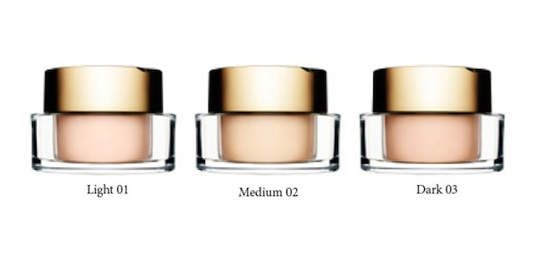 Your complexion will be perfected with 3 shades of the Loose Powder Foundation, R375 each.