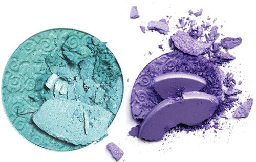 Special Mono Eye Shadow in I Love Mint and Lilac Blossom, R135 each