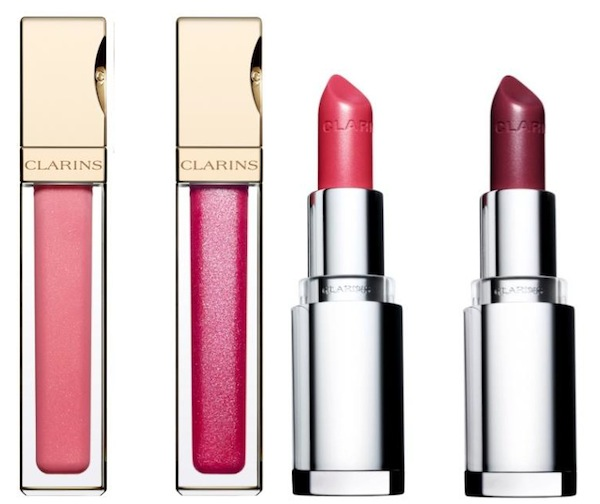 Rouge Eclat is joined by 2 shades of Jolie Rouge Brilliant Lipstick, R220 each. And to finish the lip look, there are 2 permanent shades of Gloss Prodige, R205 each.
