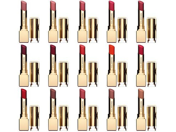 The star product is the 15 shade strong Rouge Eclat Lipstick collection, R235 each. Thankfully these will become part of the permanent product line-up.