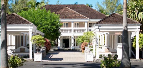 Entrance to LUX* Ile de la Reunion