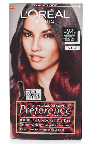 Wild Ombre Red