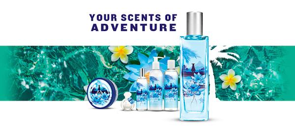 Body Shop's Fijian Water Lotus Collection