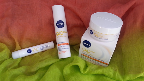 The Nivea Q10 plus Anti-Wrinkle Energy Range