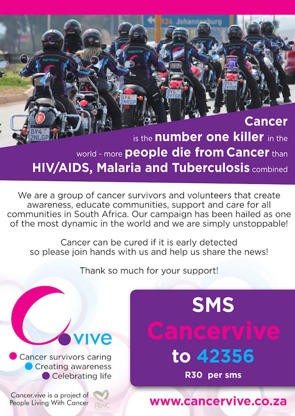 SMS-Cancervive Donation