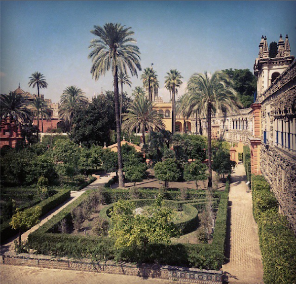 El Alcazar, Seville