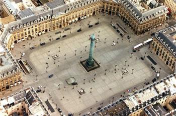 Place Vendôme in Paris
