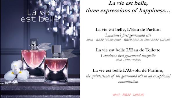 La Vie Est Belle Collection