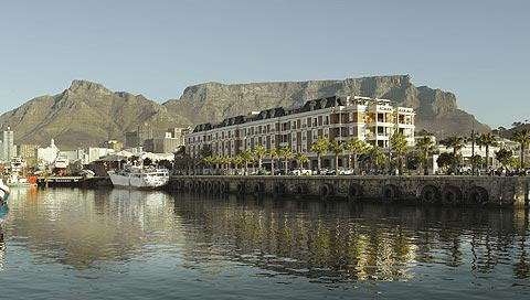 The beautiful Cape Grace. The spa is situated on the fourth floor at the city end of the hotel.