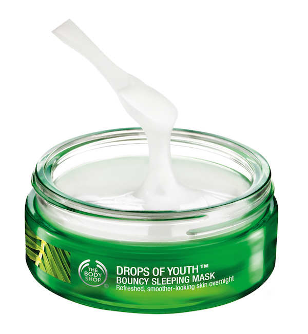 The Body Shop Nutriganics Drops of Youth Bouncy Sleeping Mask