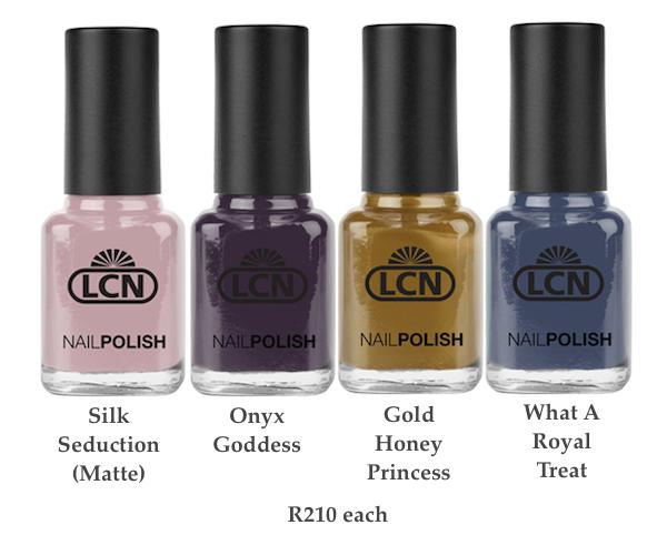 LCN Rich Velvet Nails