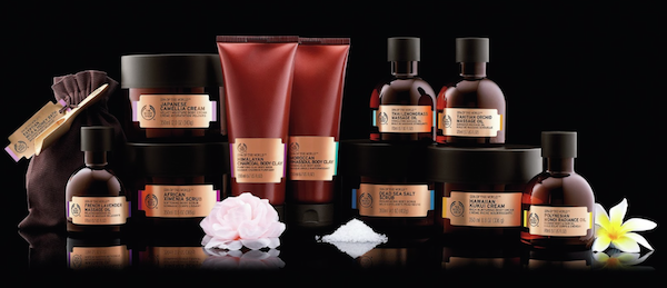 The Body Shop Spa of the Wolrd Range