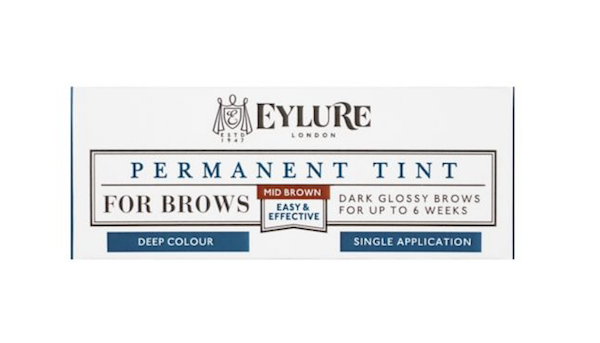 Eylure Permanent Brow Tint in Mid-Brown