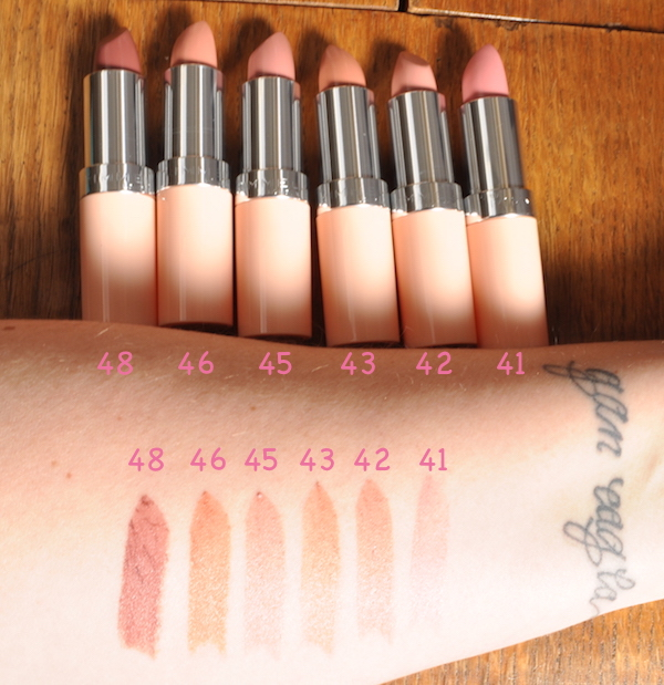 Kate Moss Rimmel Nude Swatches