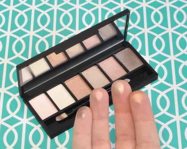 Factorie Eyeshadow Palette Swatches