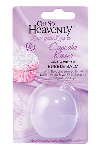 Oh So Heavenly Bubble Balm in Cupcake Kisses