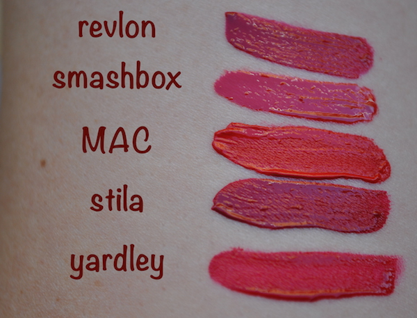 Liquid Lipstick Swatches